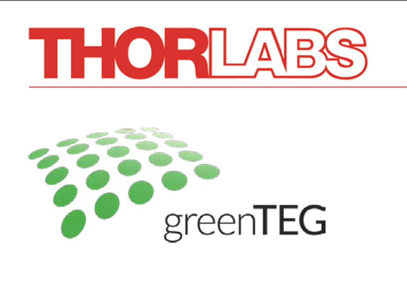 Thorlabs And Greenteg Enter Into Exclusive Agreement Optecnet